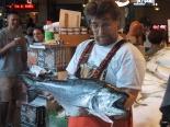 Fresh fish have clear corneas